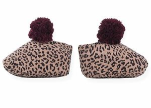 1 + In The Family Infant Leopard Bootie Rose
