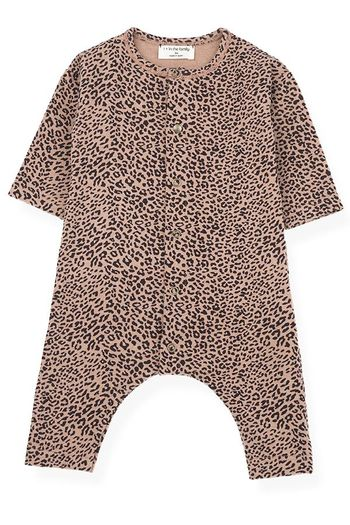 1 + In The Family Leopard Infant Romper (1Mos,12Mos,18Mos)