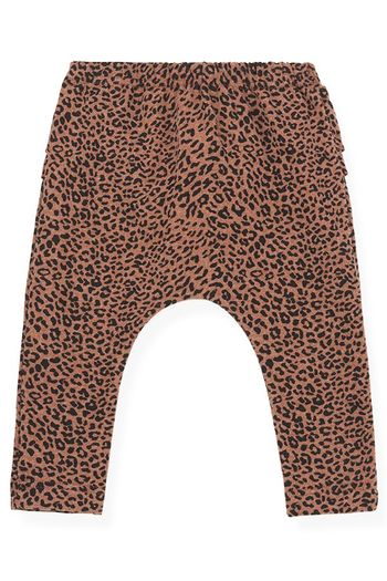1 + In The Family Ruffled Leopard Legging Infant & Toddler (6Mos & 18Mos)
