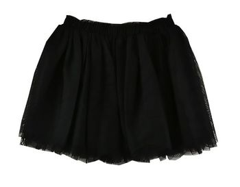 A Classic in Black Tulle Skirt  (8,12,14)