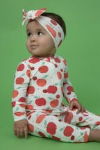 Angel Dear Apple Orchard Footie (NB,0-3Mos,3-6Mos,6-9Mos)