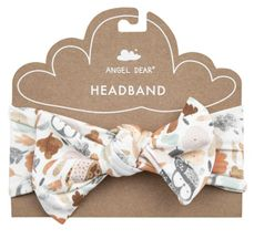 Angel Dear Autumn Owls Headband
