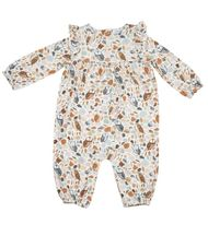 Angel Dear Autumn Owls Romper (Size 3-6Mos)