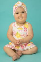Angel Dear Citrus Skirted Onesie (3-6Mos & 6-12Mos)