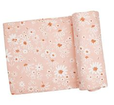 Angel Dear Daisy Chain Swaddle Blanket