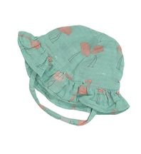 Angel Dear Flamingo Muslin Sunhat
