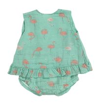 Angel Dear Flamingo Top and Bloomer (Size 6-12Mos)