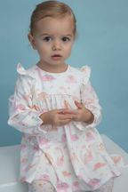 Angel Dear Flora Dinos Dress (12-18Mos,18-24Mos,3T,4T)