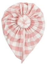 Angel Dear Gingham Pink Headwrap