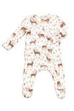 Angel Dear Girls Footie Little Deer