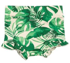 Angel Dear High Waist Shorts in Tropical Leaves (3-6Mos & 18-24Mos)