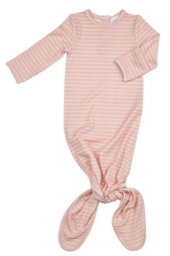 Angel Dear Hippo Stripe Knotted Gown