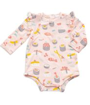 Angel Dear Infant Romper Sushi Pink