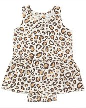 Angel Dear Leopard Bodysuit with Skirting (12-18Mos & 18-24Mos)