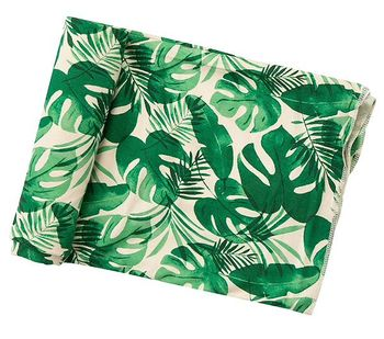Angel Dear Monstera Deliciosa Swaddle Blanket