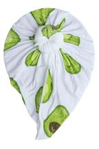 Angel Dear Norma Headwrap in Avocado (Sizes 6-12Mos)