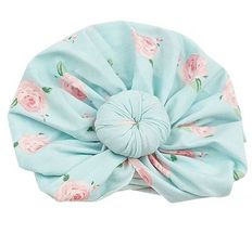 Angel Dear Norma Headwrap in Petite Rose (Size 6-12Mos)