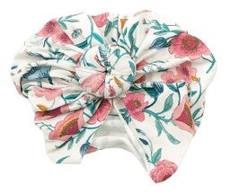 Angel Dear Norma Headwrap in Vintage Garden (Size 6-12Mos)