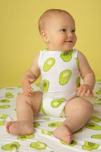 Angel Dear Onsie in Avocado (3-6Mos,6-12Mos,12-18Mos)