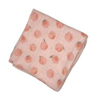 Angel Dear Peachy Muslin Blanket