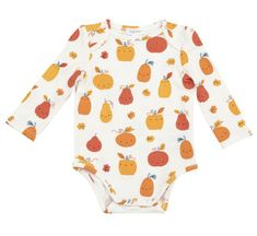 Angel Dear Pumpkin Patch Onesie