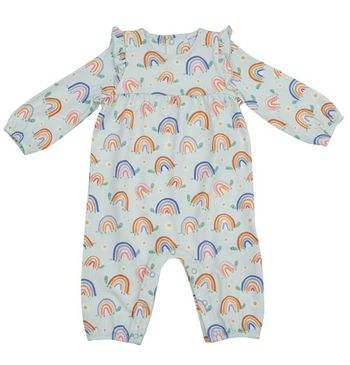 Angel Dear Rainbow Turtles Romper