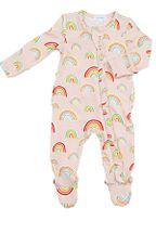 Angel Dear Rainbows Zipper Footie (Sizes 3Mos to 24 Mos)
