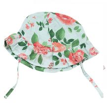 Angel Dear Sunhat in Rose Garden (Size 0-6Mos)