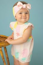 Angel Dear Sunsuit in Pineapples (12-18Mos & 18-24Mos)