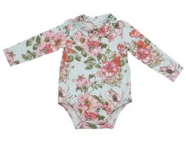 Angel Dear Woodrose Bodysuit with Picot