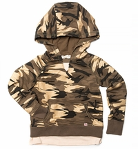 Appaman Camo Hoodie with Pocket for Girls (Size 4)