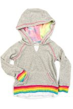 Appaman Fiona Hoodie Rainbow Trim (Sizes 4 to 10)