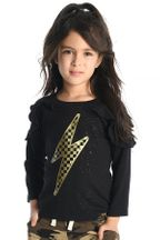 Appaman Lightening Bolt Top in Black (6 & 8)