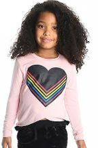 Appaman Penelope Tee Rainbow Love