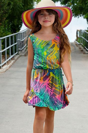 Appaman Rainbow Ombre Dress Tinos