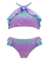 Atlantis Mermaid Bikini for Girls (2T,3T,5,6)