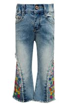 Baby Sara Embroidered Jeans Bell Bottoms