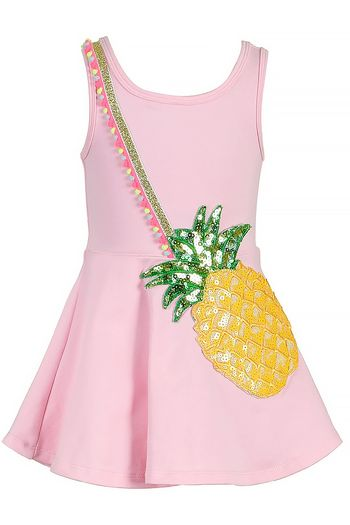 Baby Sara Sequin Pineapple Dress for Girls