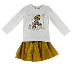 Mayoral Best Friends Skirt Set (6Mos to 24Mos)