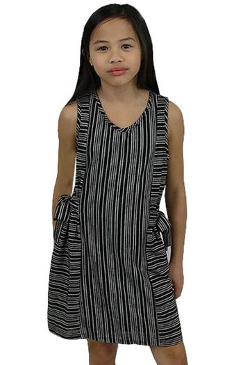 Black and White Tween Dress (10 & 12)
