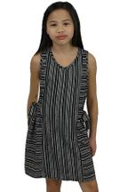 Black and White Tween Dress (8,10,12)