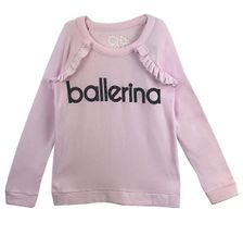 Chaser Ballerina Ruffle Pullover (Size 4)