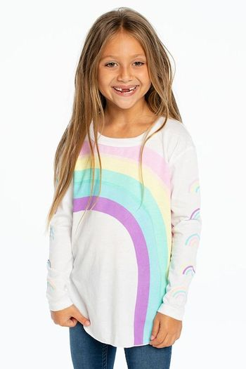 Chaser Cozy Rainbow Pullover