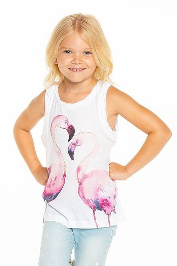 Chaser Flamingo Love Tank (2,3,5,7,8,10,14)