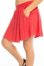 Chaser Flouncy Skort in Red (Sizes 5 to 12)