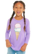 Chaser Ice Cream Cone Purple Top