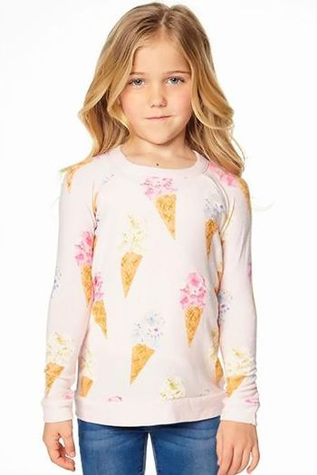 Chaser Ice Cream Cone Sweatshirt (4,10,12)