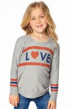Chaser Love Sweatshirt in Gray (5,6,7)