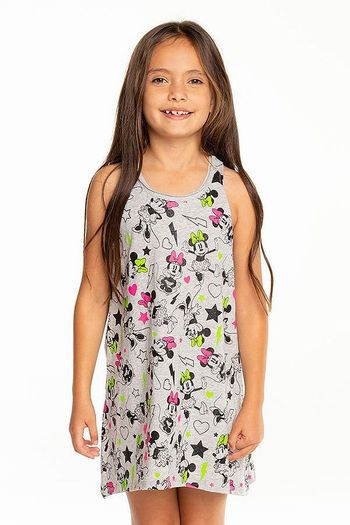 Chaser Minnie Mouse Tank Dress (7,8,10,12)