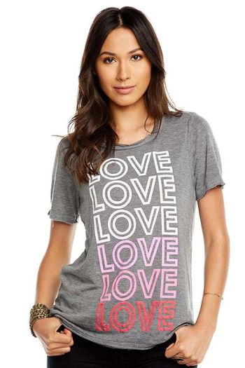 Chaser Mommy Love Tee Gray (Size XS 0)